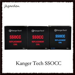Kanger subtank mini kit de arranque online-Kanger SSOCC bobina atomizador cabeza 0.5ohm 1.2ohm Ni200 0.15ohm Fit kanger subox Subvod Starter Kit Subtank Mini tanque V2 0266054-2