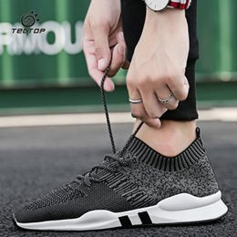 Flying Woven Mesh Breathable Shoes Summer One-legged Lazy Shoes Knitted Mesh Shoes