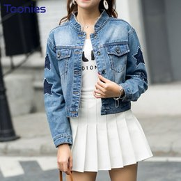 dcce4b46b735 vintage jean jackets for women 2019 - New 2018 Spring Summer Women s Denim  Jacket Women Vintage