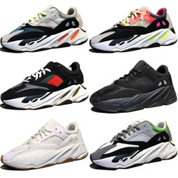 47babe6c335b9 High Quality Kanye West Wave Runner 700 Boots Grey Running Shoes for men  700s womens mens Sports Sneakers trainers outdoor designer shoes