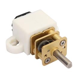 Motore elettrico ad ingranaggi miniaturizzati ad alta coppia per motori ad ingranaggi CC 12V 100 RPM da miniatura elettrica fornitori