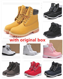 Wholesale Waterproof Hiking Boots - Winter men women waterproof outdoor boots shoe couples genuine leather warm snow boots casual Martin boots hiking sports shoes size 36-46