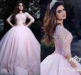 1d0f07a122 Distribuidores de descuento Vestido De Encaje De Tul Rosa Claro ...