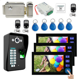 Kit videocitofoni Touch Screen 7