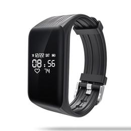 Pulsera inteligente K1 2018 Barato Venta caliente Pulsera inteligente Podómetro Monitor de ritmo cardíaco Banda inteligente Mejores ejercicios Fitbit pulseras Monitor de actividad desde fabricantes