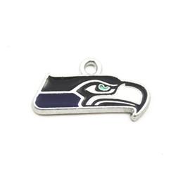 Горячие продажи футбольная команда Спорт логотип плавающей мотаться подвески кулон ожерелье цепь браслет серьги ювелирные изделия от