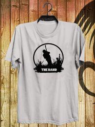 Группа группа силуэт фото картина белая футболка S-2XL печати футболка летний стиль лето с коротким рукавом хлопок Camiseta Hombre от