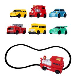 Wholesale Car Following - Magic Pen Inductive Car Vehicle Set Toy Following Black Line Induction Rail Track Car