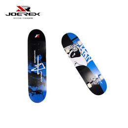 "Wholesale Maple Skate - Wholesale-Joerex Professional ""Zhong"" China Maple 4 Wheels Double Rocker Skateboard 31 Inch Cruiser Long Skate Board"