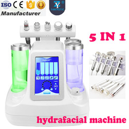 Wholesale Hydra Peel - 5 In 1 Good Suction Hydrafacial Machine Hydra Dermabrasion Peel Spa Facial Machine Water Microdermabrasion Skin Care Cleaner Machines