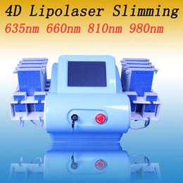 Я липо лазеры онлайн-12 лазерных подушек 350 МВт Smart i lipo лазерная машина для похудения диод липо лазерная липолизная машина для похудения