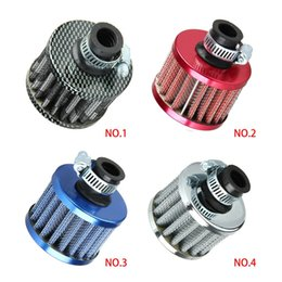 Wholesale Air Breather - DHL 50PCS Car Motor Cold Air Intake Filter Turbo Vent Crankcase Breather Sales