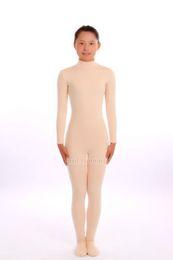 Niño Adulto Desnudo   Carne Unisex Lycra Spandex Piel Zentai Disfraces Body  Leotardo Unitard Sin Capucha Manos barato traje de traje de catsuit f6456342e53f