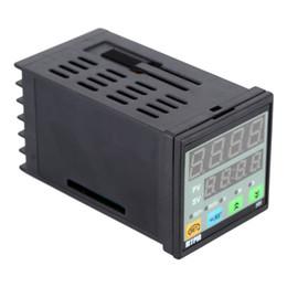 led temporizadores de cuenta regresiva Rebajas Contador de tiempo de la cuenta descendiente del contador de tiempo digital de MYPIN 90-260V AC / DC LED para el uso industrial