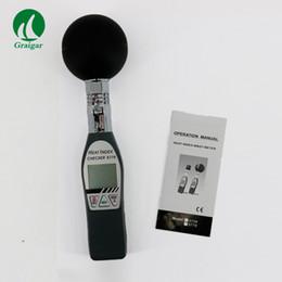 2019 semi di mais all'ingrosso Igrometro digitale palmare nero termometro a bulbo termometro AZ8778