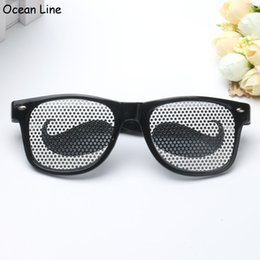 Funny Black Moustache Party Glooming Costume Glasses Novelty Sunglasses Photobooth Props Wedding Party Supplies Decoration Gifts Deals
