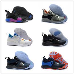 Canada 2018 nouvelles couleurs Paul George 2 chaussures de basket-ball pour pas cher qualité supérieure PG2 1 toutes étoiles starplay PG multicolores PG 2 s chaussures de sport US 7-12 cheap playstation colors Offre