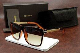 Wholesale Ford Brands - Luxury Top Qualtiy New Fashion 0392 Tom Sunglasses For Man Woman Erika Eyewear Ford Designer Brand Sun Glasses With Original Box