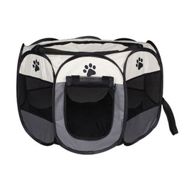spring totes Promo Codes - Waterproof Scratch Resistance Pet Cage Foldable Washable Eight Horn Dog Barrier Enclosure Waterproof Block Wind Fence Easy To Clean 65hz2 Y