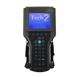 Opel tech2 ferramentas de diagnóstico on-line-Alto Desempenho Para G m Tech 2 Scanner para Gm Ferramenta de Diagnóstico G-M Tech2 com Frete Grátis DHL Com caixa de plástico preto
