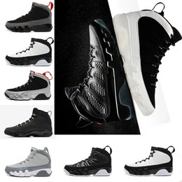 Wholesale New Tours - 2018 new 9 9s men basketball shoes LA Bred OG Space Jam Tour Yellow PE Anthracite The Spirit Johnny Kilroy sports trainers Sneakers