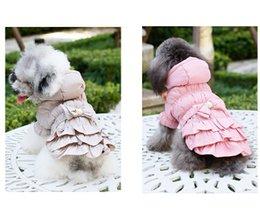 sudaderas rosa para perros Rebajas Abrigo con capucha para perros Estilo británico Ropa para perros Otoño invierno Cálido engrosamiento Algodón Chaqueta de moda Rosa Caqui