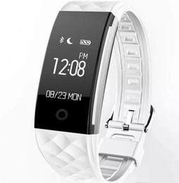 Argentina Ritmo cardíaco dinámico S2 rastreador de ejercicios con banda inteligente Contador de pasos Reloj de pulsera con vibración para ios android pk ID107 fitbit tw64 Suministro