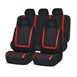 UK Car Seat Cover Universal Size 5 Standard Protective Chair Interior Accessory Jersey Fabric