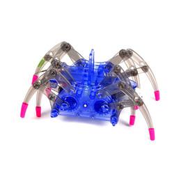 Arañas robot online-Los niños Araña Eléctrica Robot de Juguete DIY Inteligencia Educativa Conjuntos de Desarrollo de Niños Rompecabezas Juguetes de Acción Kits C5451
