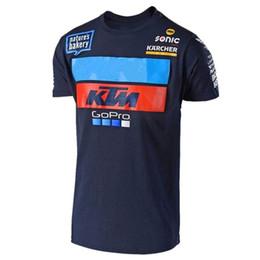 2018 New Go pro Camiseta de manga corta de moto para Motocross jersey Camiseta de verano de montaña del campo TF FF desde fabricantes