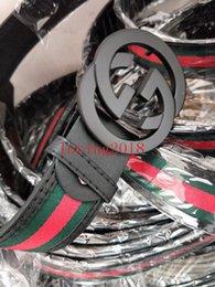 Wholesale mens waist belts - New Fashion Mens Business Belts Luxury Ceinture Automatic Buckle Genuine Leather Belts For Men Waist Belt 2018