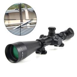 Argentina LEUPOLD 6-24x50 M1 Alcance de la caza Óptica Rifle Scope Rojo y Verde Dot Fiber Reticle Sight Tactical 11mm / 20mm Rail Riflescope cheap dot rail Suministro