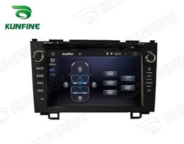 Wholesale Car Dvd Honda Crv - Quad core 1024*600 HD Screen Android 5.1 Car DVD GPS Navigation Player for HONDA CRV 2006-2011 Bluetooth Wifi 3G steering wheel control