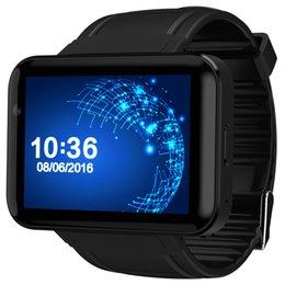 2019 orologi intelligenti 3g wifi Smart watch DM98 intelligente orologio Android grande schermo da 2.2 pollici 320 * 240 MTK Dual Core 1.2G 900mAh con WIFI GPS 3G Smartwatch PK I5S S3 sconti orologi intelligenti 3g wifi