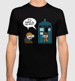Argentina Lo nuevo Funny Fantastic Beasts Tardis Hombres / Mujeres Camiseta Newt Scamander Doctor Who Combo Tee Camisetas de alta calidad Suministro
