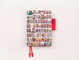 Wholesale A5 Journal - Multiple colors Simulated Leather Cover A5 A6 suitable for Hobonichi and other standard journal sheets