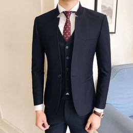 3ccd259b0132 2019 vestito per mariage 3 pezzi completi abiti da uomo smoking smoking uomo  suit designer 2018