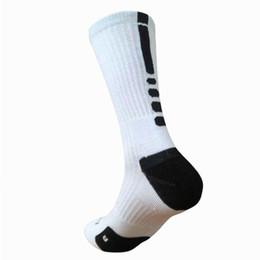 Wholesale Usa Volleyball - USA new knee high elastic crew socks elite basketball football soccer sport long tube crew sock terry towel kd socks for men women dressing