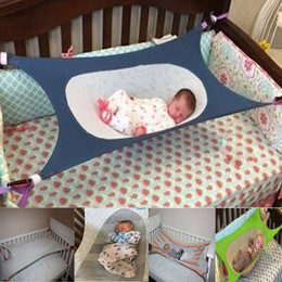 Wholesale Elastic Beds - Folding Newborn Infant Bed Elastic Detachable Baby Cot Beds Portable Baby Crib Hammock Toddler Safe Photography Props Ho