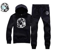 Wholesale Wholesale Mens Cotton Pants - Wholesale-Free shipping Billionaire Boys Club Hoodies fashion mens hoodie tracksuit autumn winter hip hop BBC Hoodies top+pants