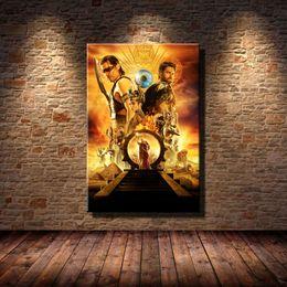 Pintura de egipto online-Gods of Egypt Poster -1, decoración para el hogar, pintura de arte moderno impresa en lienzo (sin marco / enmarcada)