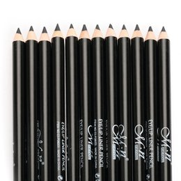 Canada MENOW 12pcs Black Eyeliner Pencil Kit Waterproof Long Lasting Makeup Cosmetics Set Charming Color Eyeliner Pen Eyes Beauty Tool supplier charm color cosmetics Offre