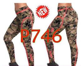 armee-yogahose Rabatt Frauentanzhosen Yogahosen Army Piped Ankle Leggings lange Gamaschen P746