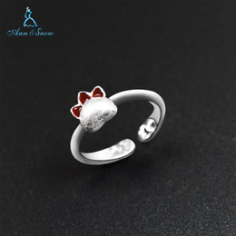 c4e966459 2018 New Arrivals 925 Ring 925 Sterling Silver Rings Cat Claw Cute Girls  Design Fine Jewelry Animal Party Engagement For Women