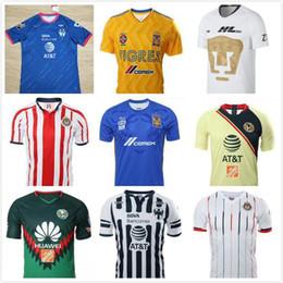 81099476ad1 2018 2019 LIGA MX Club America CHIVAS Guadalajara UNAM TIGRES soccer Jerseys  18 19 Monterrey Raven Club de Cuervos football shirt camisetas discount ...
