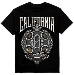 2019 loja das camisas da forma t MENS SHOP PRIVATE LABEL California King Mens Heavyweight T-Shirt Impresso Em Shak Verão A Nova Moda desconto loja das camisas da forma t