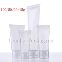 15 30 50 100 мл натуральный матовый мягкий лосьон косметика трубка, сожмите пластиковую бутылку, шампунь лосьон трубка упаковка, контейнер от