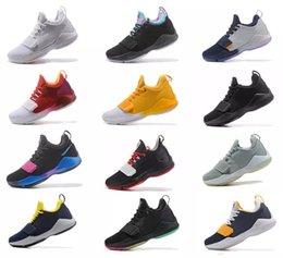 2019 zapatos de baloncesto para adultos Hombres atléticos Paul George PG 1 Girar el interruptor Zapatillas de baloncesto de zoom bajo Adultos I Verde glaciar Gris Marfil Ferocidad Zapatillas Oreo brillantes rebajas zapatos de baloncesto para adultos