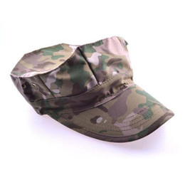 Wholesale Army Acu - New 6Style Snapback Camouflage Tactical Hat Army Tactical Baseball Cap Unisex ACU CP Desert Cobra Camo Camouflage Hats Summer