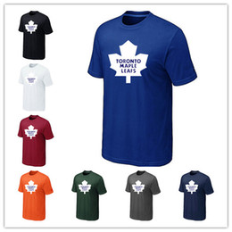 Nouvelles Toronto Maple Leafs T-shirt de hockey sur glace pour hommes et femmes Au printemps et en automne Impression offset Livraison gratuite ? partir de fabricateur